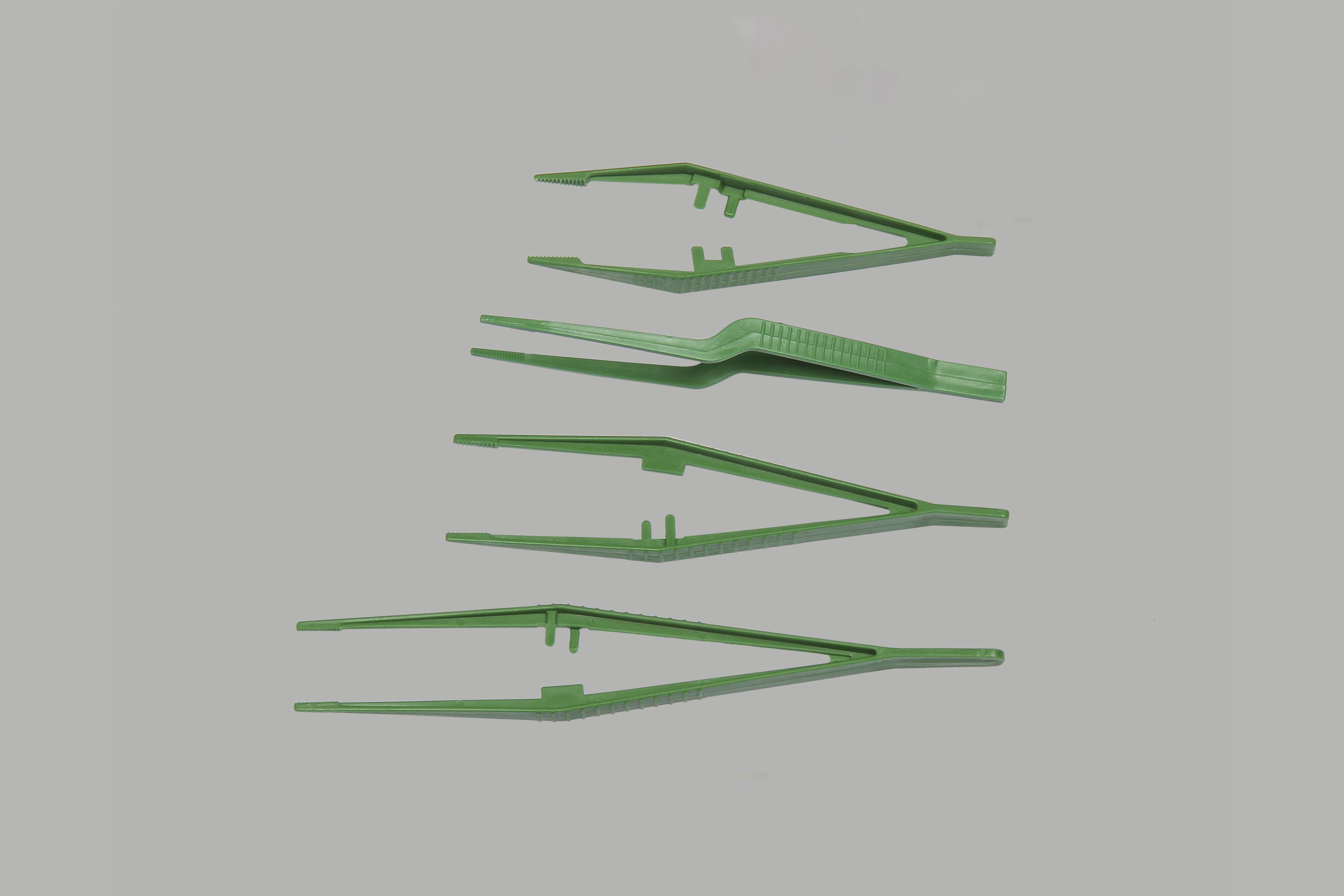 Пинцет одноразовый стерильный, дл. 12,5 см